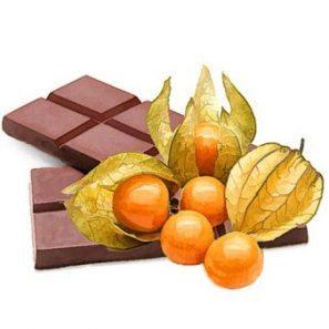 physalis v čokoláde